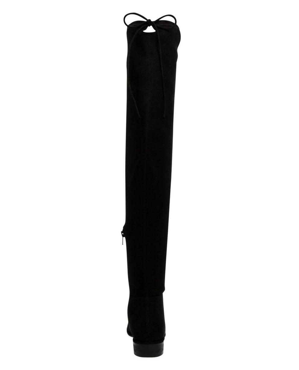 Schoenen - ZWM - Zwarte overknee laarzen